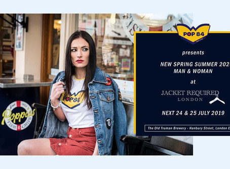 POP 84 at Jacket Required London: an overseas presence for a brand without horizons