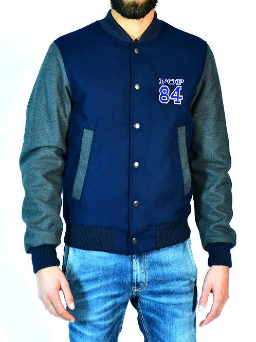OLD SCHOOL POP84 man jacket blue