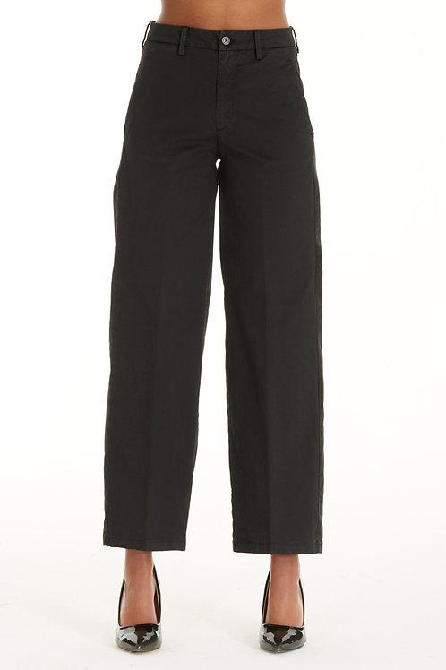 Cotton pant R931 black