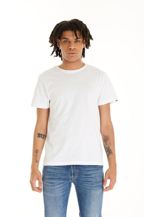 T-shirt POP84 BASIC LOGO white