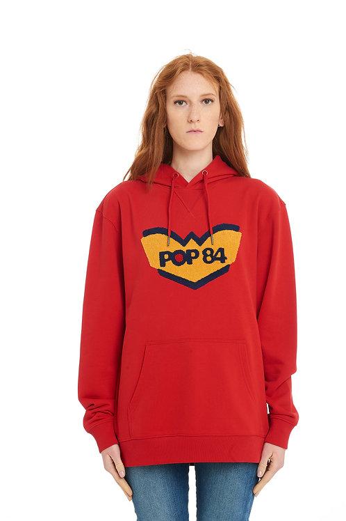 LOGO POP84 woman hoodie