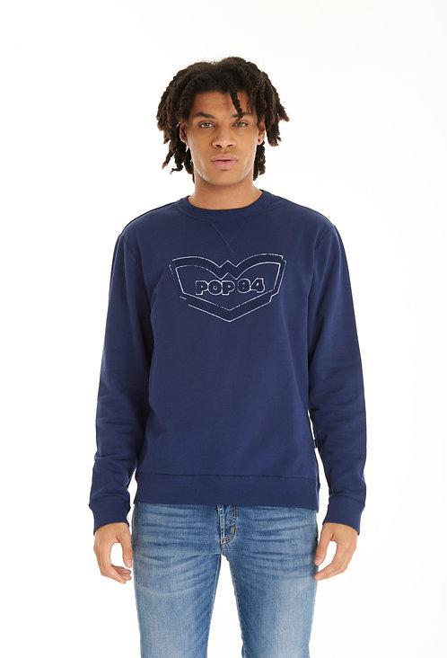 Sweatshirt F020 blue