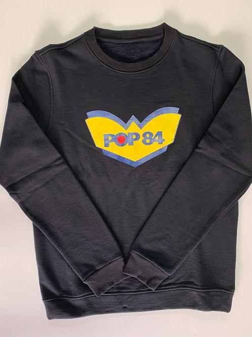 POP84 LOGO man sweatshirt crewneck