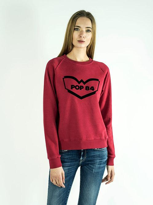 LOGO POP84 woman sweatshirt