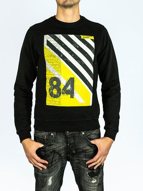 POP84 man sweatshirt crewneck