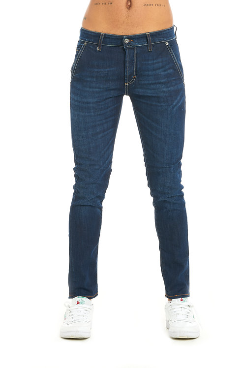 ROMA blue jeans with america pocket slim fit