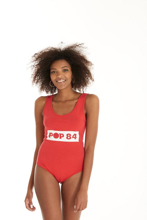 Body POP84 80'S red