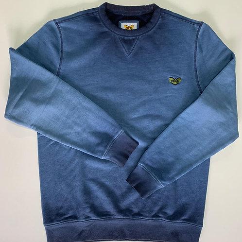 POP84 washed man sweatshirt crewneck
