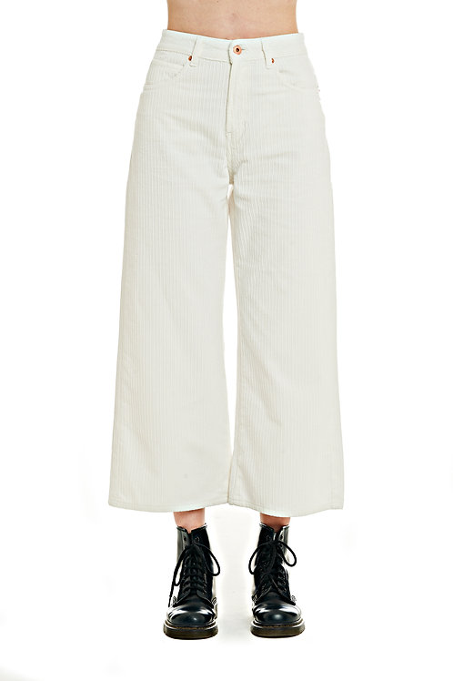 ROSY velvet pant high-waisted over fit