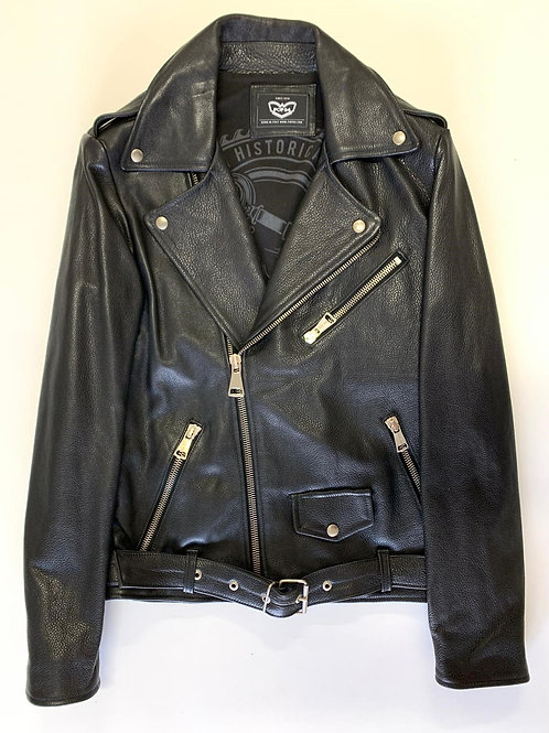 Chiodo POP84 man jacket in black leather