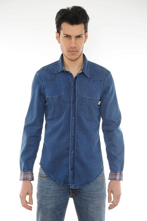 Denim shirt POP84 light