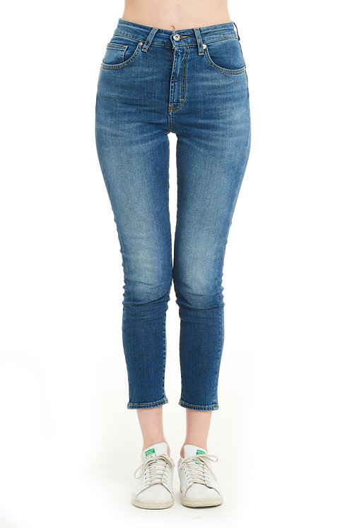 NIKY blue jeans high-waisted slim fit