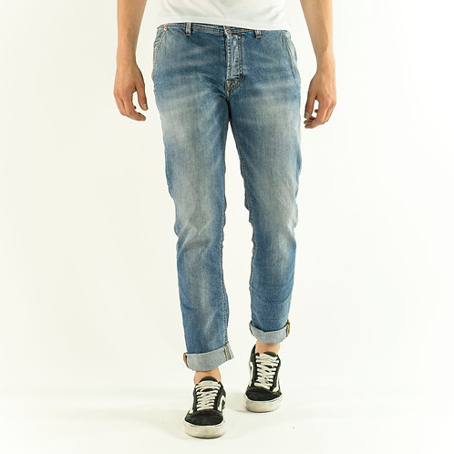 TONY blue jeans with america pocket over fit