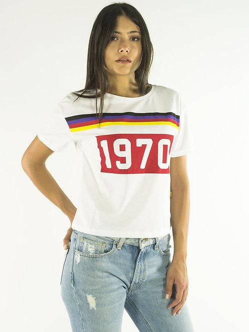 T-shirt 1970 white