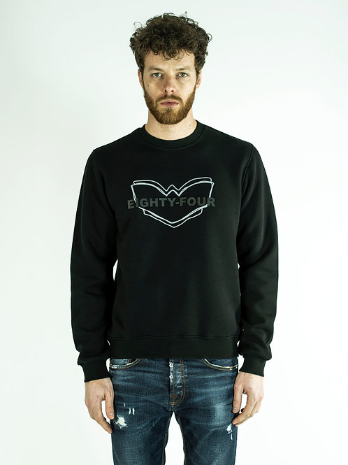 POP84 LOGO man sweatshirt crewneck