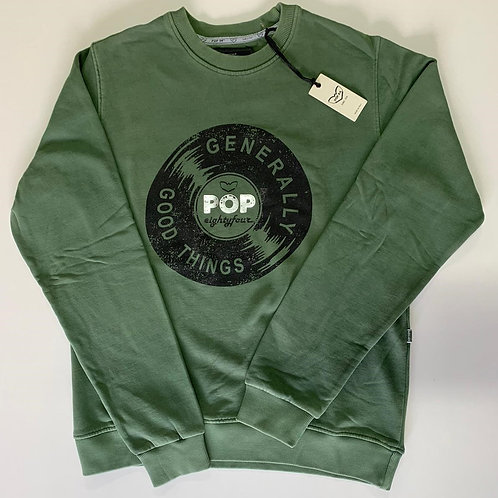 POP84 VINYL man sweatshirt crewneck
