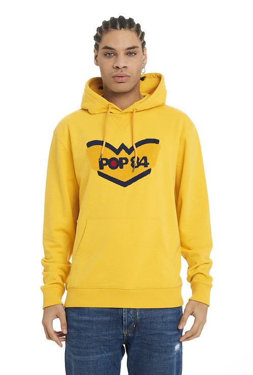 Sweatshirt POP84 LOGO hooded