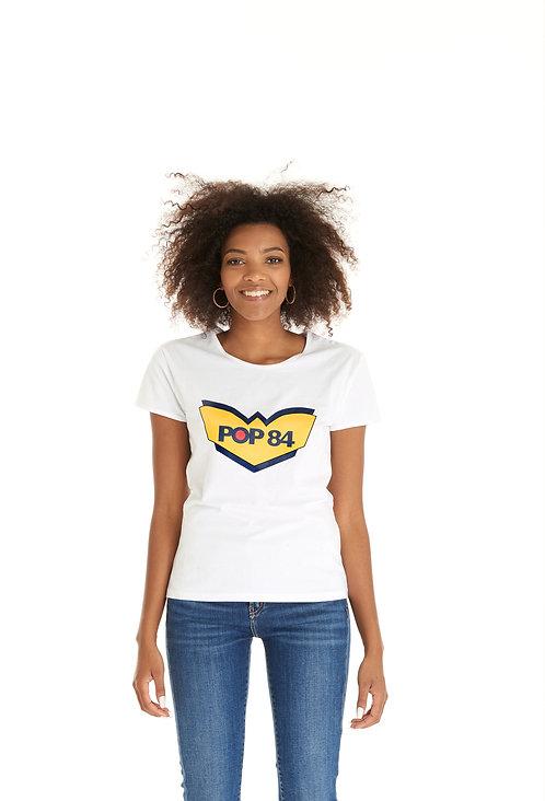 T-shirt POP84 LOGO woman