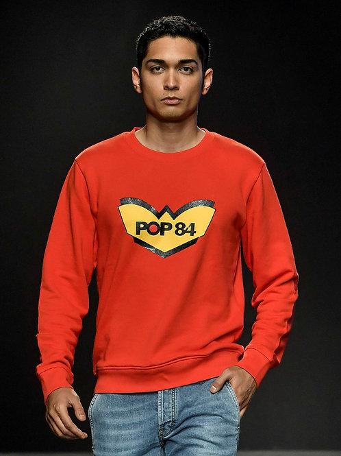 Sweatshirt POP84 LOGO crew neck