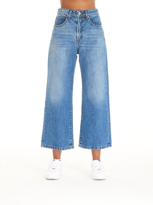 ROSY blue jeans high-wasted over fit