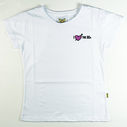 T-shirt I LOVE THE 80'S