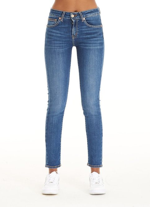VALENTINA blue jeans slim fit