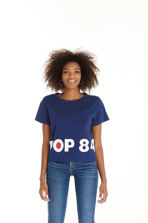 T-shirt POP84 BOX blue