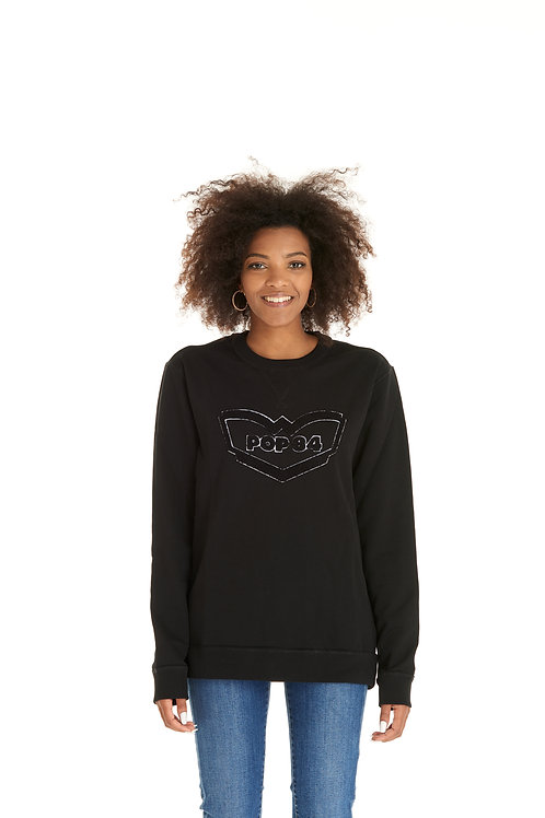 Sweatshirt F020 black