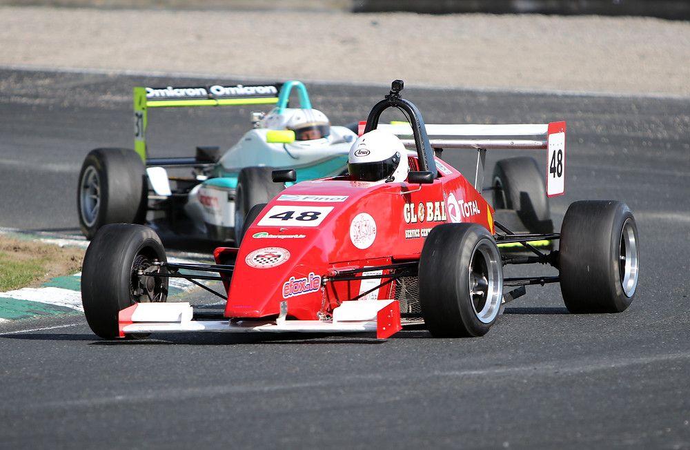 Mark Reade in action at the Leinster Trophy - Photo by CregorNews.com