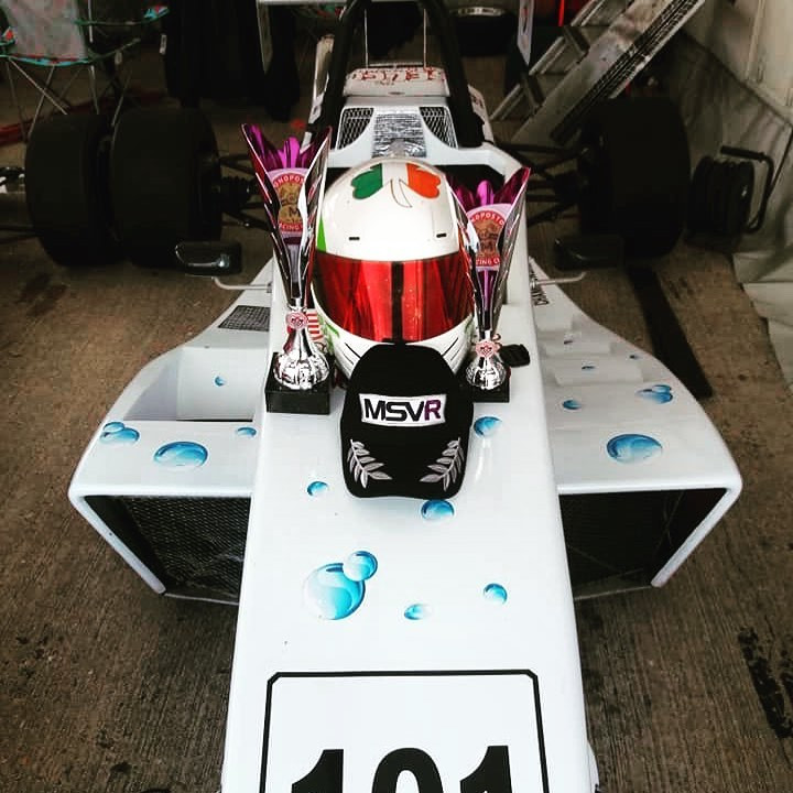 Silverstone spoils - Photo by Lorraine Hart