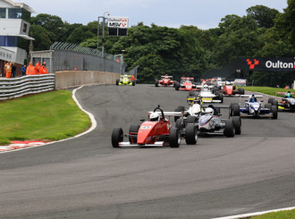 Podium glory at Oulton