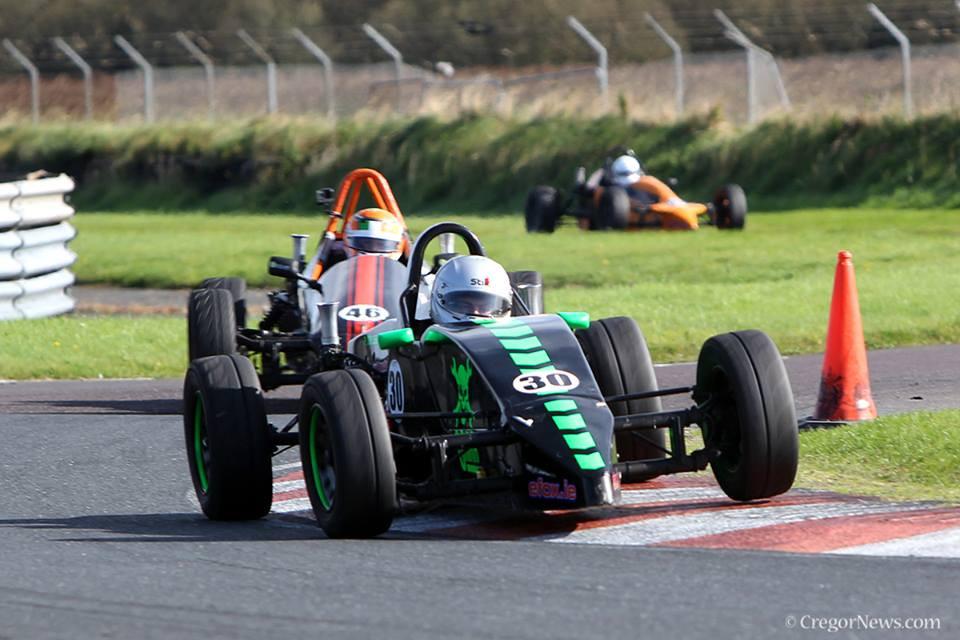 Joe Power in his JH004 Formula Vee