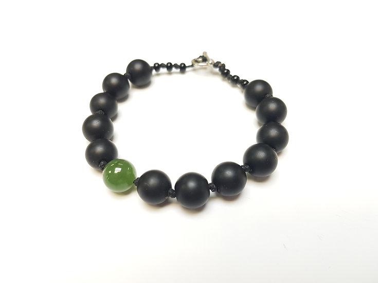 10 mm Jade & Agate