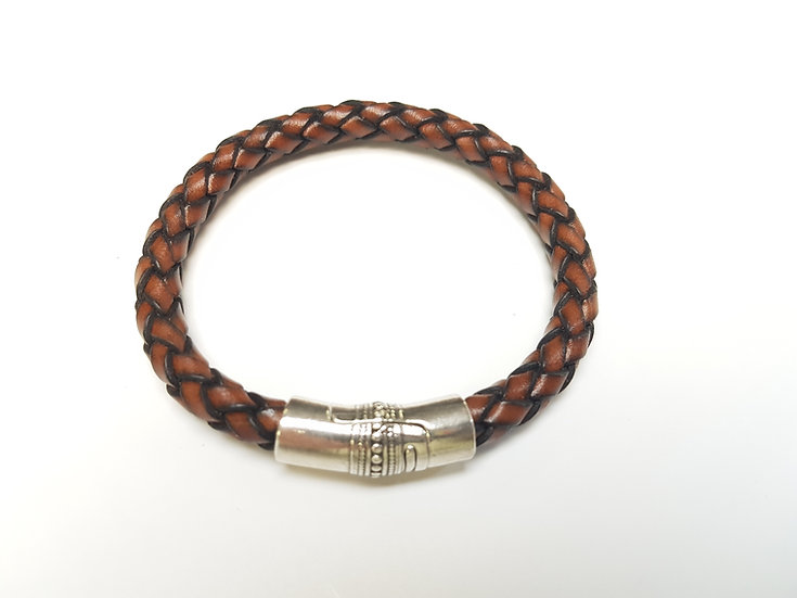 Brown weave bracelet