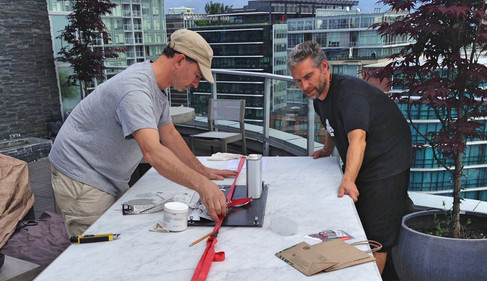 how to fix a broken marble table top
