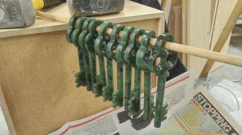 Waxing the jade