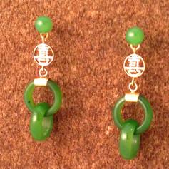 Jade and 18k Gold