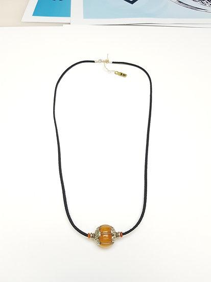 Copal sphere bead