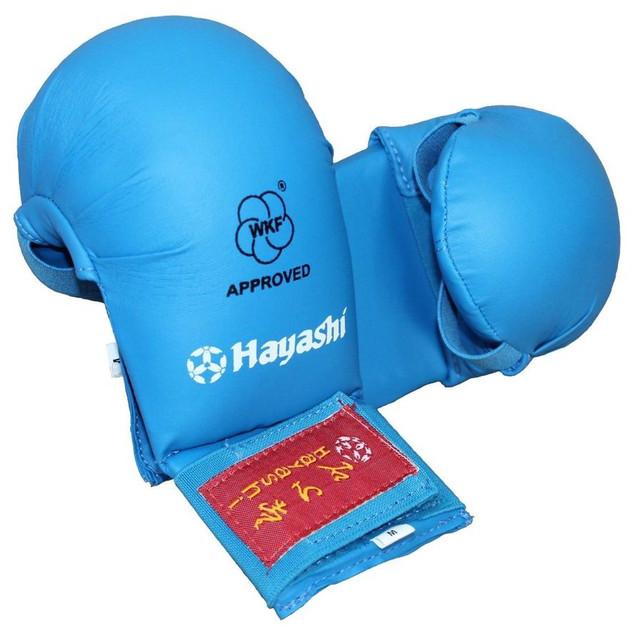 WKF Karate Protection Gloves - Blue $37.00