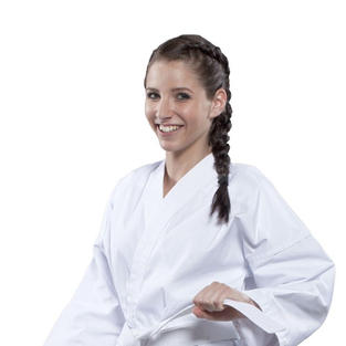 Hayashi HEIAN Lightweight White student $33.99