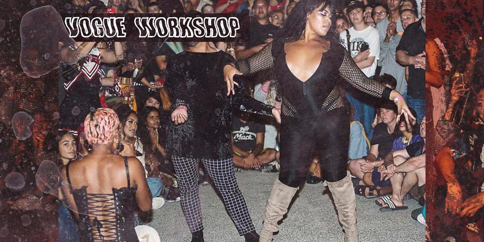 Vogue Workshop at Taki Rua