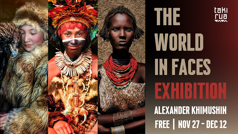 The World In Faces Exhibition