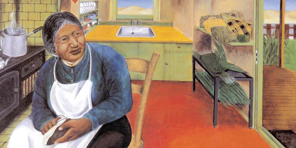 National Library: Te Kuia Me Te Pūngāwerewere