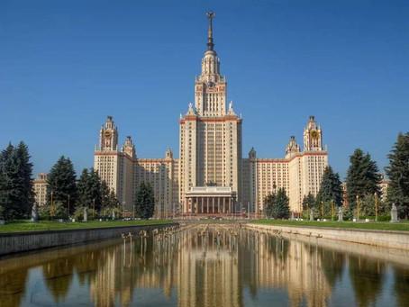 Déjate sorprender por la Universidad Estatal de Moscú M.V Lomonósov