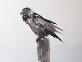 The Raven - SOLD