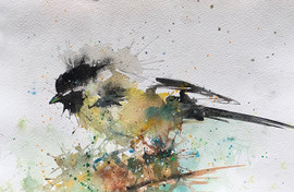 Chickadee - SOLD