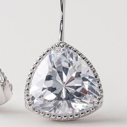 Parer's Original Triangle Drop Earrings