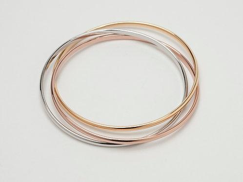 Tri Gold Bracelet