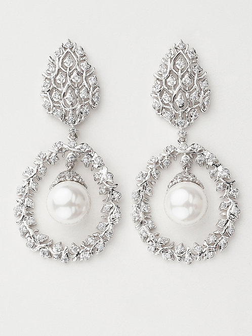 Gibbous Drop Earrings ( EXCLUSIVE )