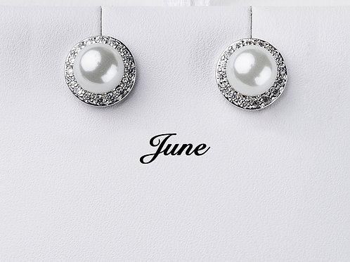 June Birthstone Earrings